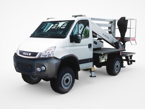iveco daily 4x4 articulated model