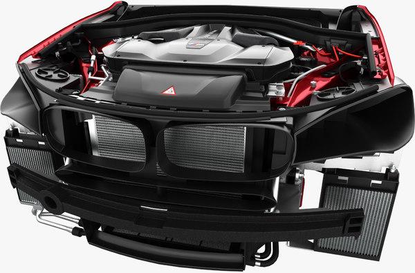 x5m f85 x6m f86 3D model