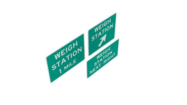 road sign r13 series 3D model