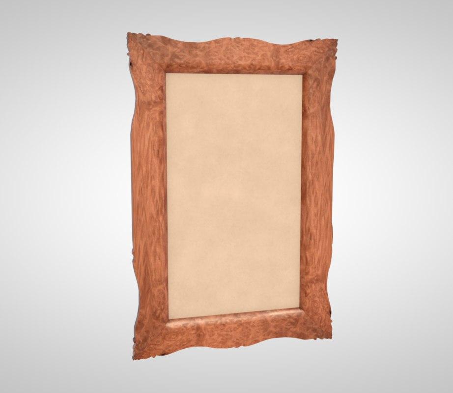 frame painting art 3D model