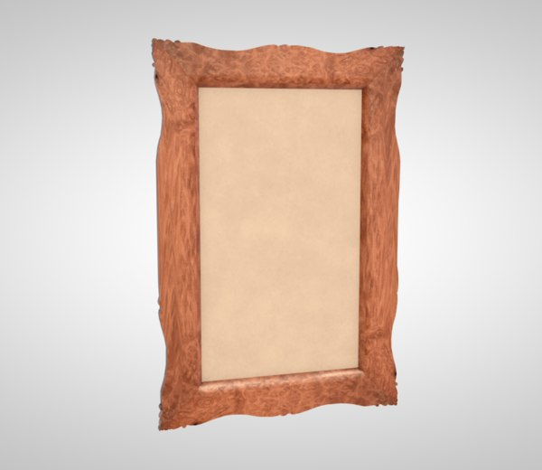 frame painting art 3D model