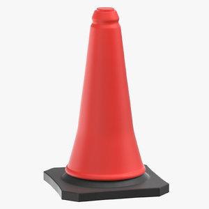 3D model construction cone 01