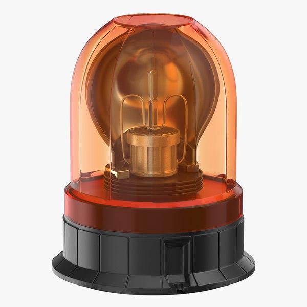 3D emergency lamp model