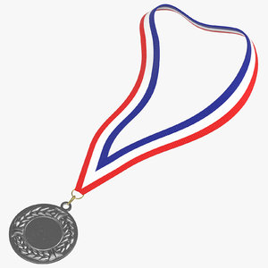 olympic style medal 01 3D