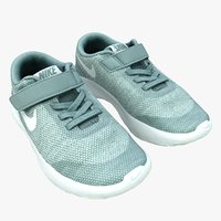 retopology kids sports shoes 3D model