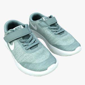retopology kids sports shoes 3D model