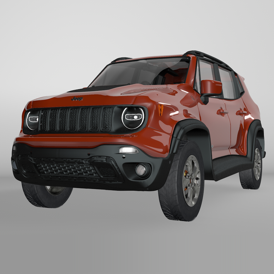 Red Jeep Renegade >> Jeep Renegade Red Trailhawk 2019 L071 Model