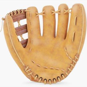 3D baseball glove ball