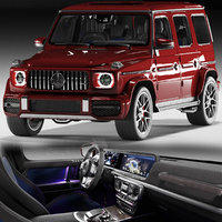 3D car mercedes benz g63
