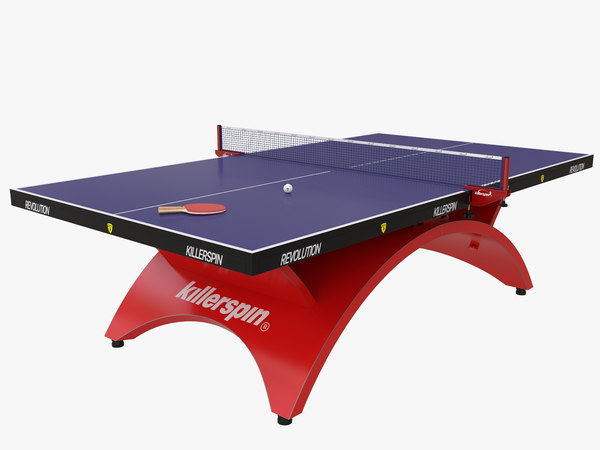 killerspin ping pong table 3D model