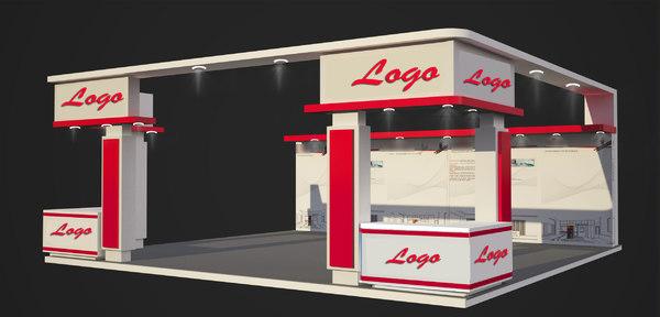 3D exhibition stands