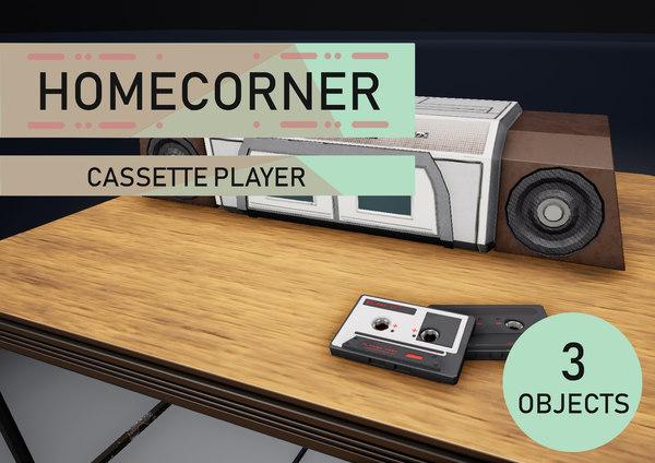 table cassette 3D model