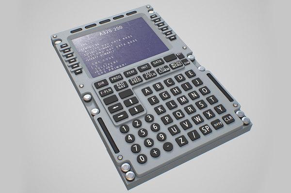 3D model multipurpose control display unit