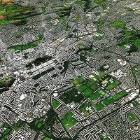 Edinburgh With Terrain