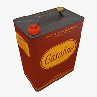 gasoline canister 3D model
