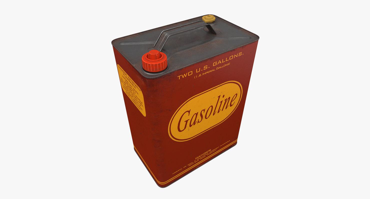 gasoline canister 3D model