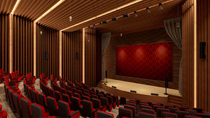 3D auditorium games
