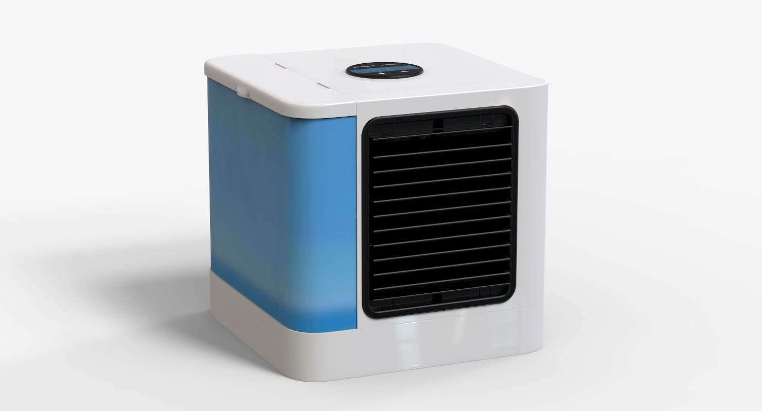 air condition portable 3D model