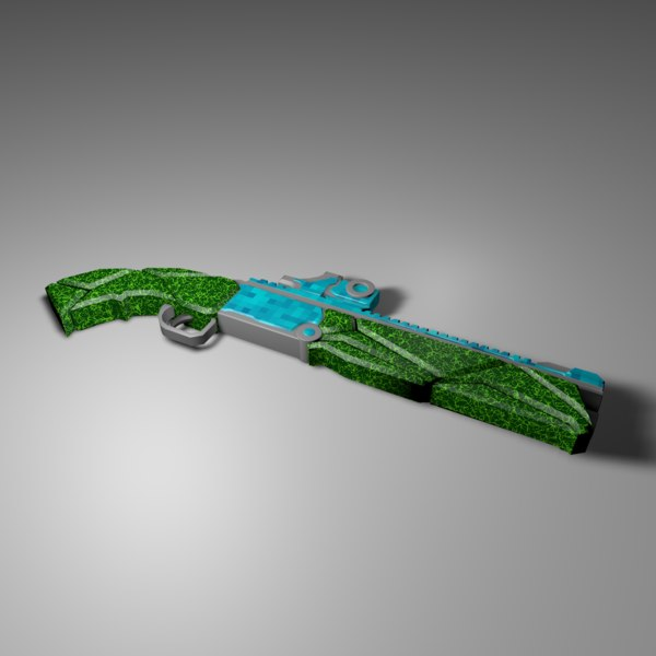 3D model shotgun
