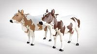 cow animal 3D model