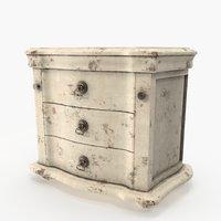 vintage dresser 3D