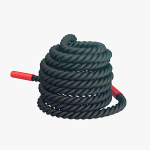 3D battle rope