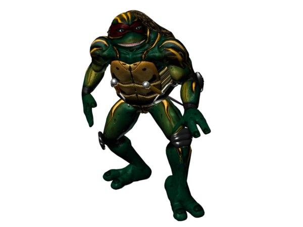 ninja turtles model