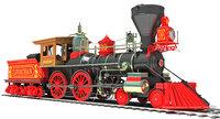 3D leviathan steam locomotive