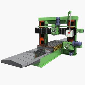 milling machine 2 3D model