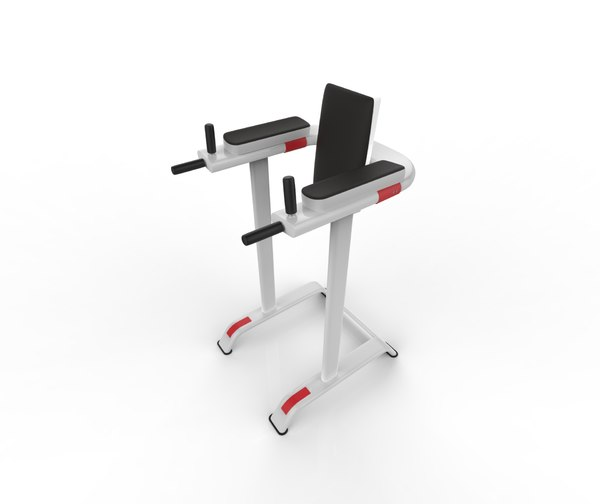 3D vertical knee raise