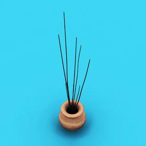 flower pot decoration 3D model