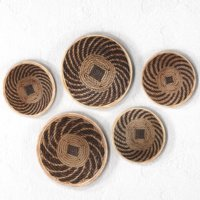 set african baskets wall 3D
