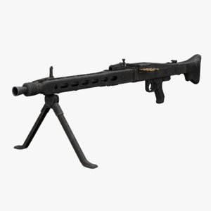 rheinmetall mg 3 machine gun model