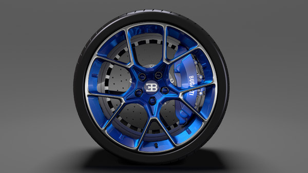 bugatti chiron wheel 5 model