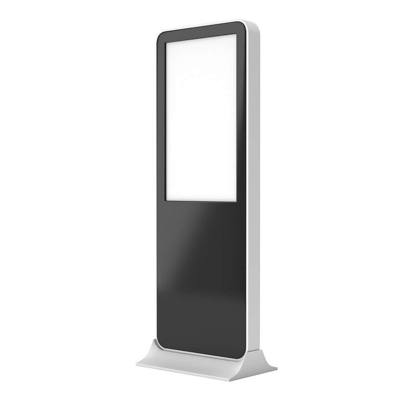 LCD Screen Stand Video Display Kiosk  Blank Trade Show Booth