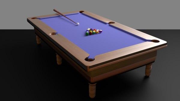 8 ball pool model