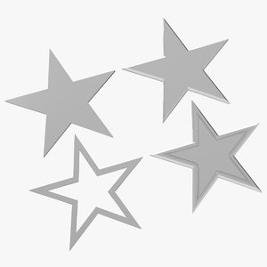 stars shapes model