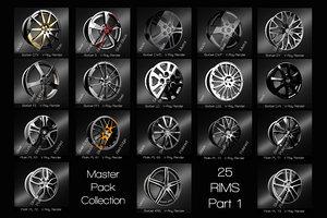3D rims master pack part1