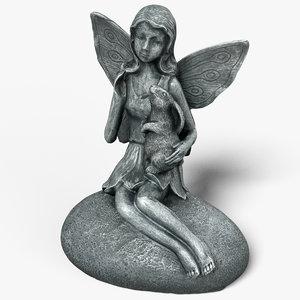 fairy statue 3D model