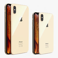 iphone xs phones 3D