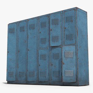 ready lockers 3D model