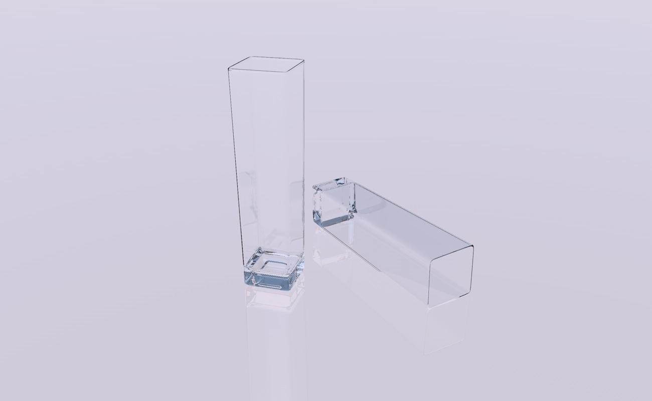 crystal glass 3D