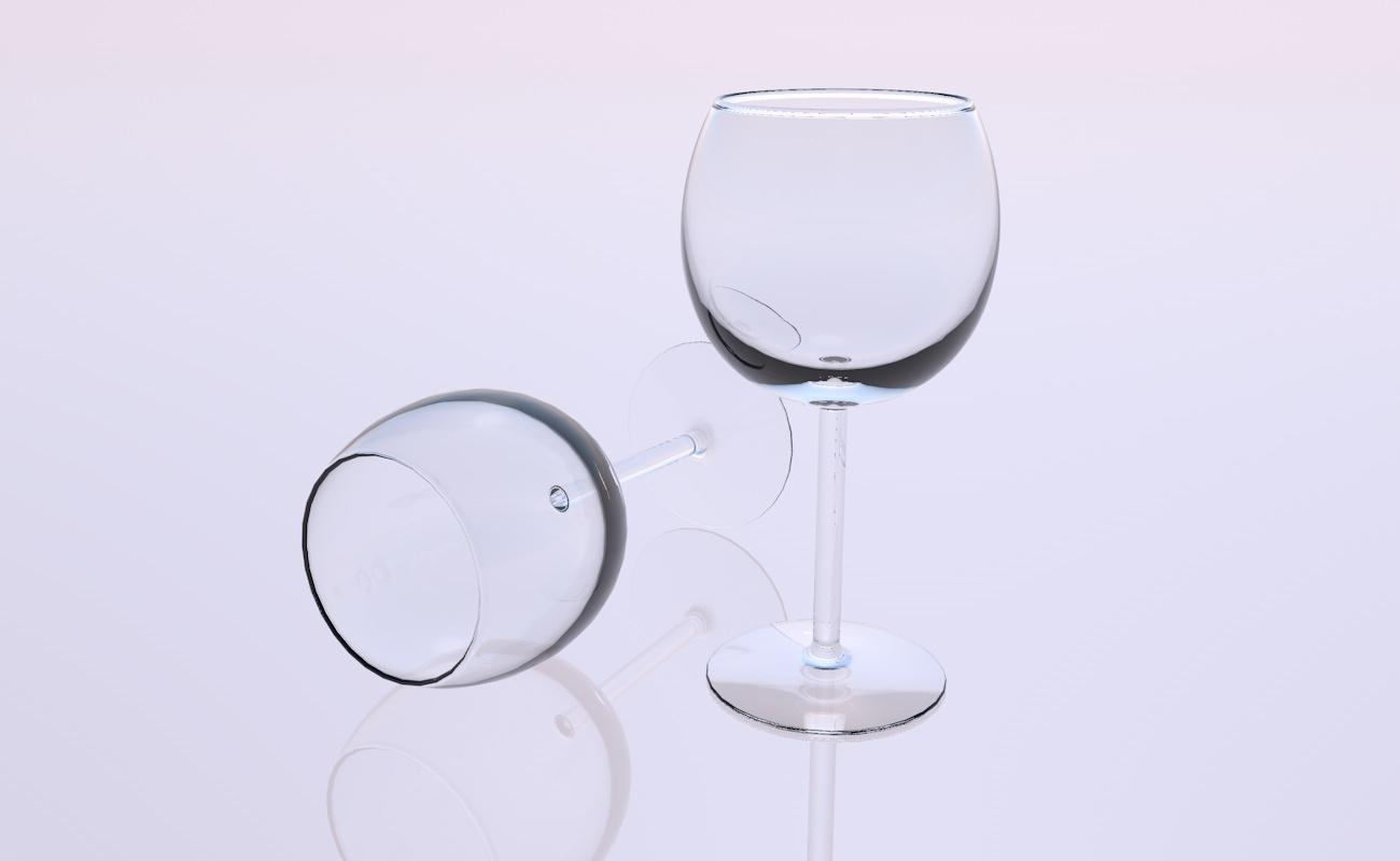 3D crystal glass