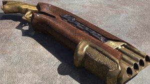 3D vampire hunter gun