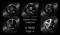 3D rims master pack part4 model