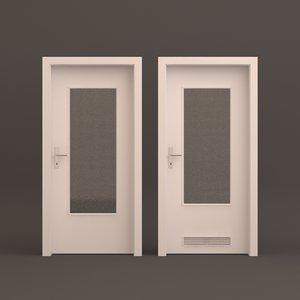 room door 2 3D model
