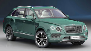 3D model bentley bentayga 2019