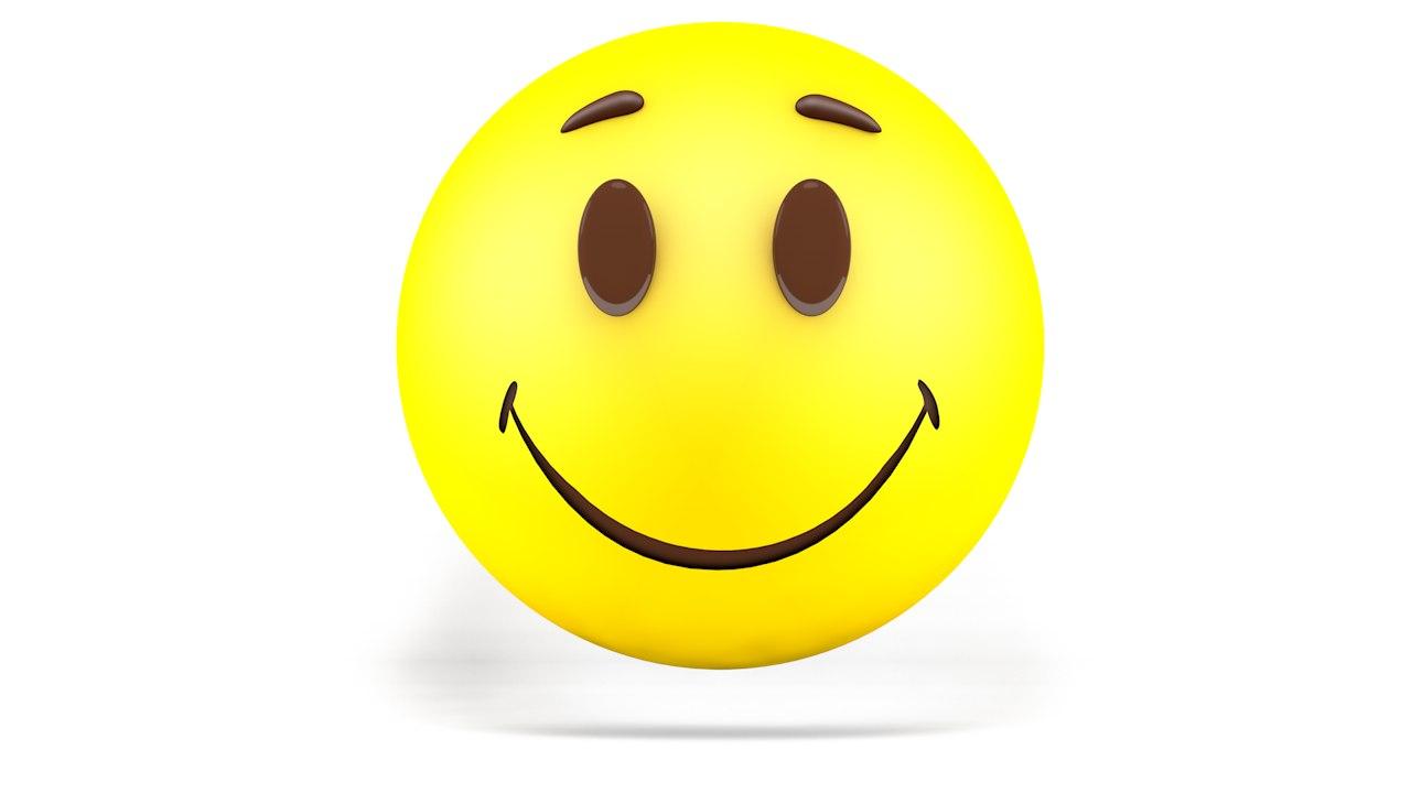 emoji smile 3D