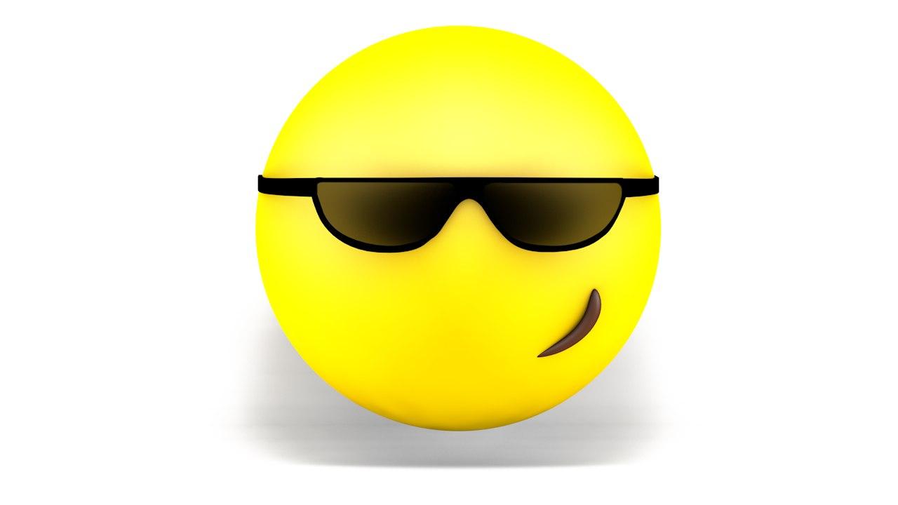 emoji glasses model