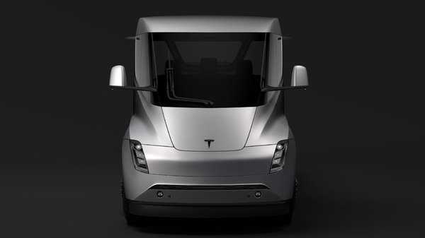 3D model tesla pickup 2020